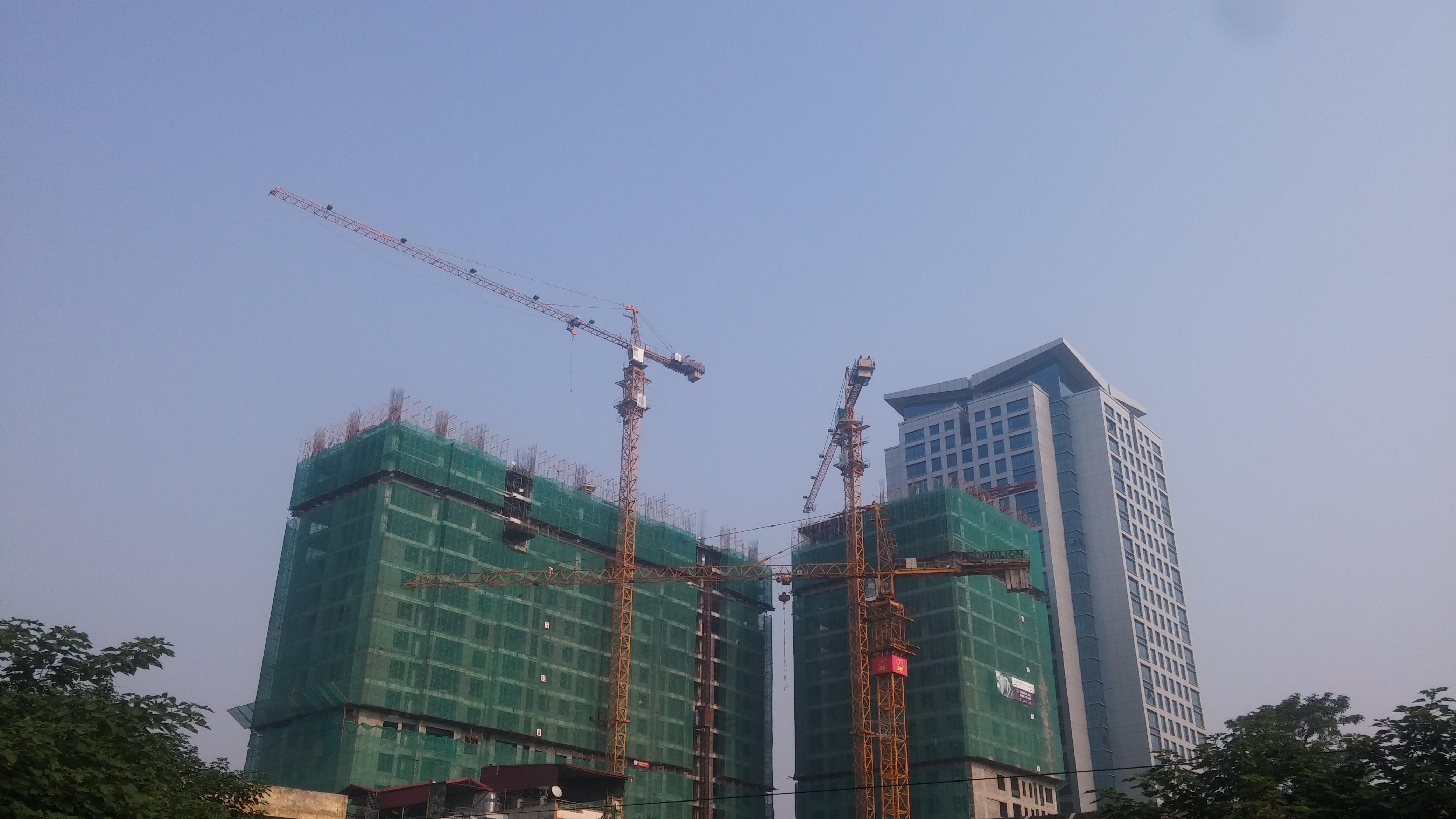 Cập nhật tiến độ dự án Hongkong Tower - 243 Đê La Thành