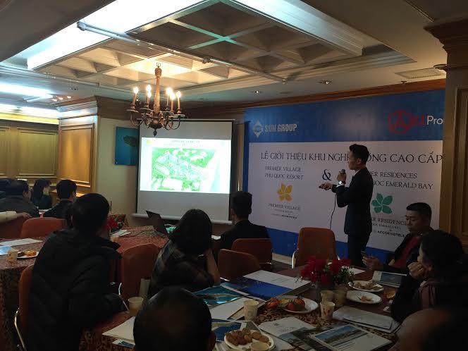 EZ Việt Nam giới thiệu tới khách hàng sản phẩm BĐS nghỉ dưỡng tại Phú Quốc