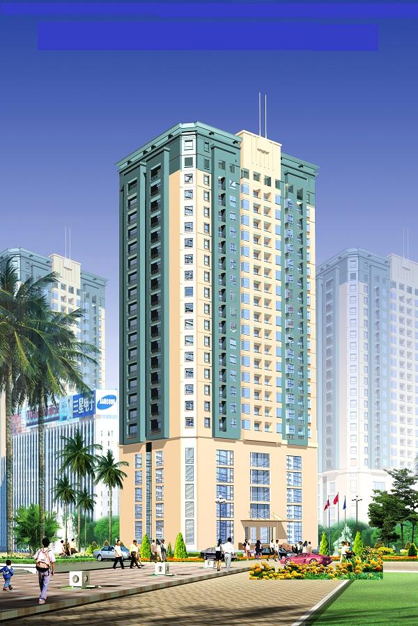 Dự án Chung cư cao cấp Đông Đô - BQP