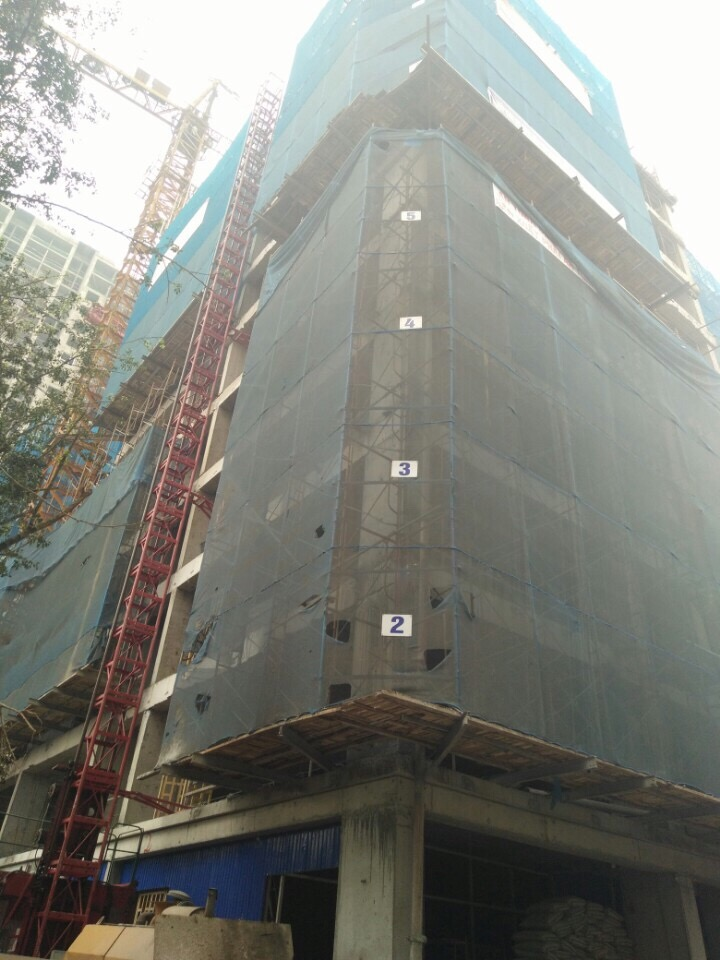 Chung cư PVV Vinapharm 60B Nguyễn Huy Tưởng đã xây đến tầng 10