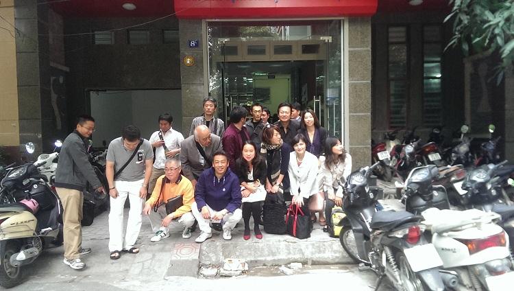 Đoàn doanh nghiệp Nhật Bản tới thăm và làm việc với EZ Việt Nam.