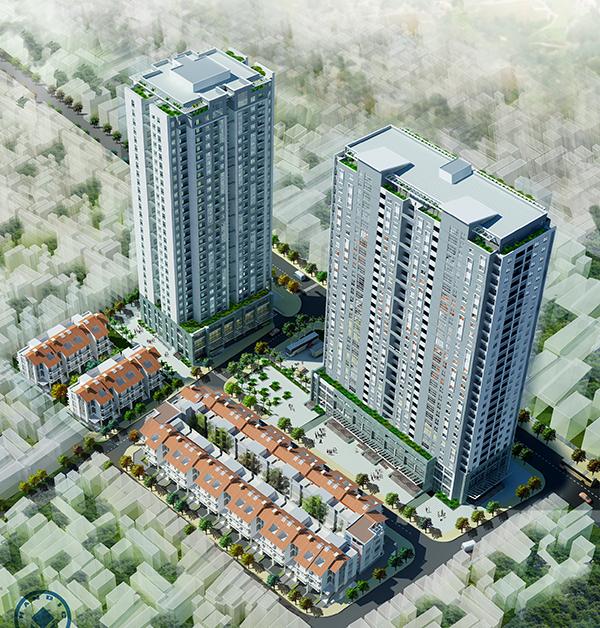 Liên danh EZ Việt Nam - VUD mở bán căn hộ VC7 Housing Complex