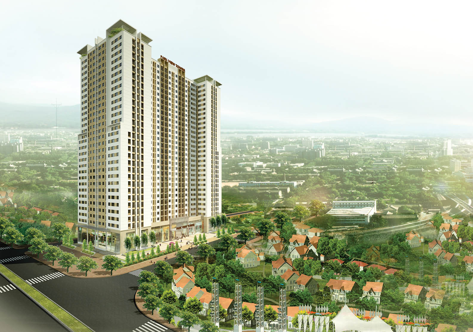 Sắp mở bán dự án Chung cư Park View Tower - Hoàng Mai - Hà Nội