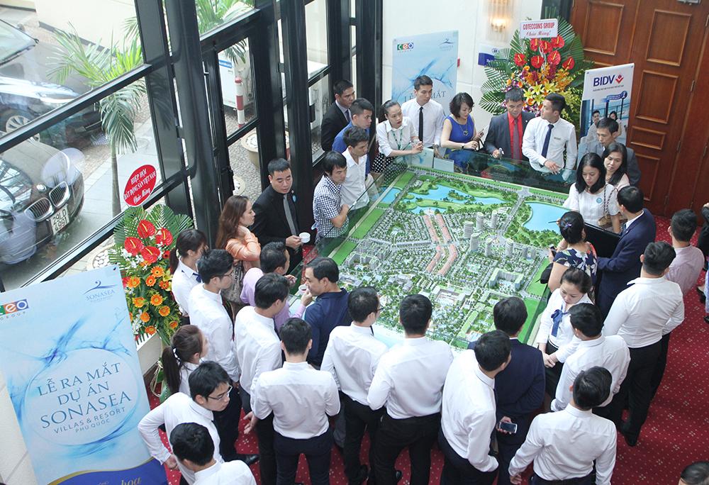 CEO Group lựa chọn EZ Property là đại lý tiếp thị và phân phối dự án Sonasea Villas & Resorts Phú Quốc