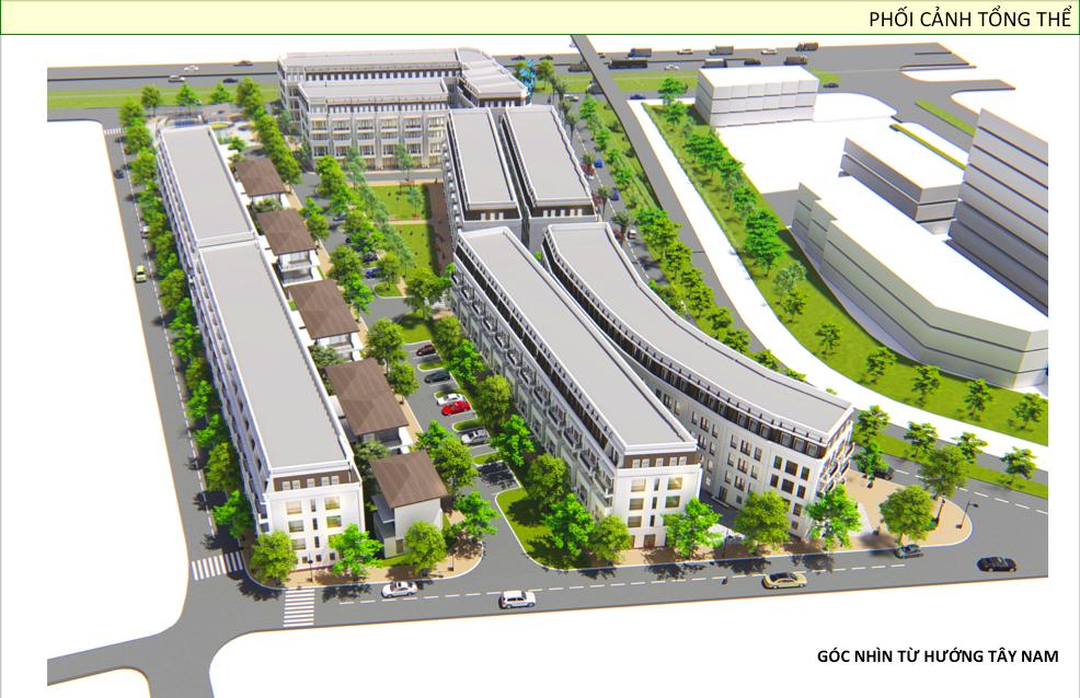 Dự án Khu nhà phố thương mại Phú Thái Center Point