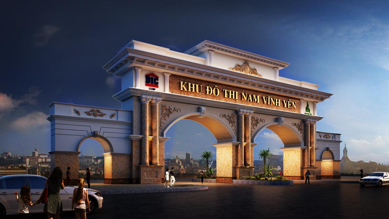Chuẩn bi mở bán giai đoạn 2 dự án Khu đô thị mới Nam Vĩnh Yên - Vĩnh Phúc