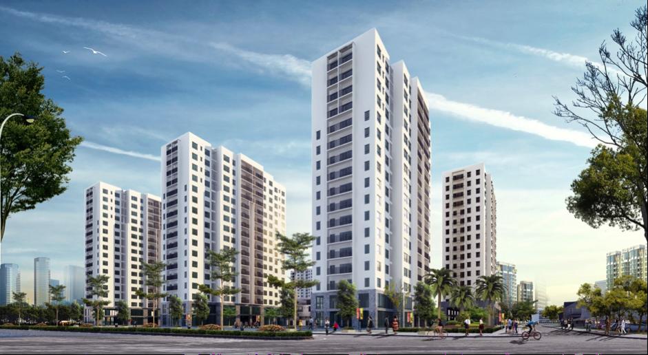 EZ Việt Nam phân phối chính thức dự án chung cư Tasco Xuân Phương
